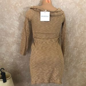 NWT Bodycon Long Sleeve Sweater Dress by Reverse